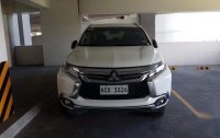 Pearl White Mitsubishi Montero 2017 for sale in Quezon City