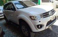 Selling White Mitsubishi Montero 2014 in Valenzuela