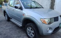 Silver Mitsubishi Strada 2007 for sale in Marikina City