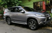 Grey Mitsubishi Montero sport 2018 for sale in Automatic