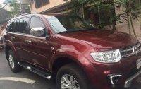 Red Mitsubishi Montero sport 2015 for sale in Manila