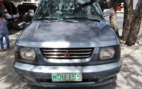 Grey Mitsubishi Adventure 1999 for sale in Manual