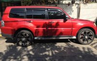 Sell Red 2009 Mitsubishi Pajero in Teresa