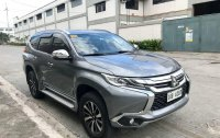 Grey Mitsubishi Montero 2018 for sale in Automatic