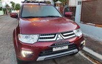 Red Mitsubishi Montero 2015 for sale in Marikina