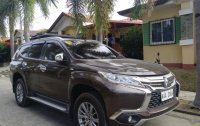 Brown Mitsubishi Montero 2017 for sale in Manual