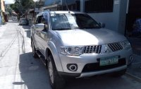 Silver Mitsubishi Montero 2012 for sale in Valenzuela
