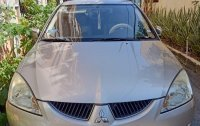 Silver Mitsubishi Lancer 2006 for sale in Automatic