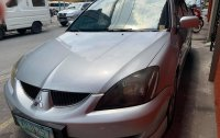 Silver Mitsubishi Lancer 2006 for sale in Makati