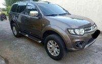 Selling Black Mitsubishi Montero 2014 in Calamba