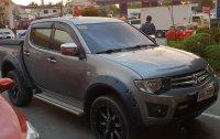 Selling Grey Mitsubishi Strada 2014 in Pasig