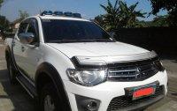 White Mitsubishi Strada 2010 for sale in Manila