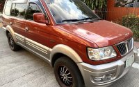 Selling Red Mitsubishi Adventure 2003 in Makati