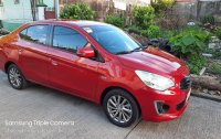 Red Mitsubishi Mirage g4 2018 for sale in San Pedro
