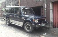 Blue Mitsubishi Pajero 1990 for sale in Quezon City