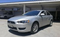 Silver Mitsubishi Lancer 2014 for sale in Muntinlupa