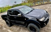 Black Mitsubishi Strada 2015 for sale in Automatic
