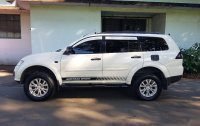 White Mitsubishi Montero 2014 for sale in Quezon City