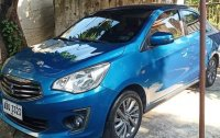 Blue Mitsubishi Mirage G4 2015 for sale in Manila