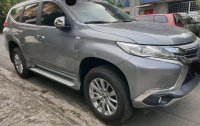 Grey Mitsubishi Montero 2017 for sale in Muntinlupa