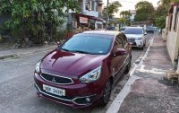 Red Mitsubishi Mirage 2018 for sale in Makati