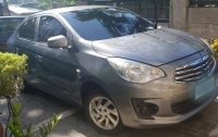 Grey Mitsubishi Lancer 2015 for sale in Manila