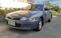 Grey Mitsubishi Lancer 1.3 2004 for sale in Batangas