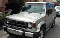 Silver Mitsubishi Montero 1997 for sale in Las Pinas