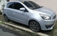 Selling Silver Mitsubishi Mirage 2017 in Quezon City