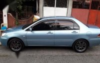 Blue Mitsubishi Lancer 2005 for sale in Caloocan