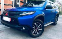 Sell Blue 2016 Mitsubishi Montero in Paranaque