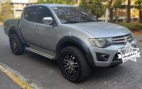 Silver Mitsubishi Strada 2014 for sale in Manila