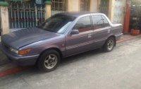 Selling Gray Mitsubishi Lancer 1991 Sedan in Manila