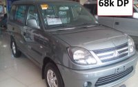 Grey Mitsubishi Adventure 2015 SUV / MPV for sale in Manila