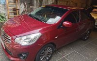 Red Mitsubishi Mirage 2019 for sale in Quezon