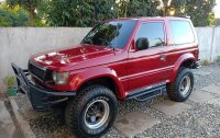 Sell Red 2004 Mitsubishi Pajero in Quezon City