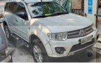 White Mitsubishi Montero sport 2014 for sale in Pasig City