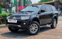 Black Mitsubishi Montero 2015 for sale in Quezon