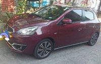 Red Mitsubishi Mirage 2016 for sale in Manila