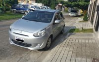 Silver Mitsubishi Mirage 2016 for sale in Quezon City