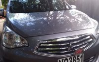 Grey Mitsubishi Mirage g4 2016 for sale in Manila