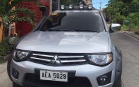 White Mitsubishi Strada 2014 for sale in Taytay