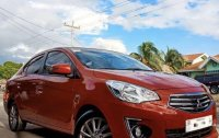 Orange Mitsubishi Mirage g4 2017 for sale in Marikina City