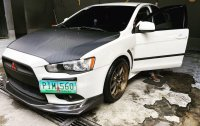 White Mitsubishi Lancer 2010 for sale in San Mateo