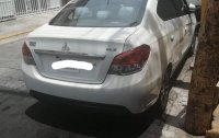 White Mitsubishi Mirage g4 2016 for sale in Manila