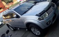 Grey Mitsubishi Montero sport 2009 for sale in Manila