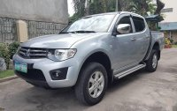 Silver Mitsubishi Strada 2012 Truck for sale in Manila