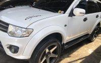 Selling White Mitsubishi Montero 2014 SUV / MPV in Lumban