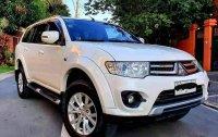 Selling White Mitsubishi Montero 2013 SUV / MPV in Manila