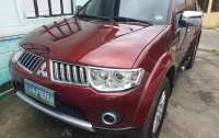 Selling Red Mitsubishi Montero 2011 SUV / MPV in Manila